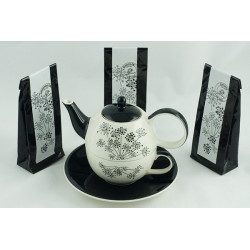Tea for One 0,4l a 0,25l s čaji 3x50g Andělika