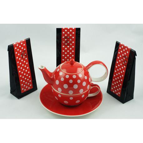 Tea for One 0,4l a 0,25l s čaji 3x50g Puntík