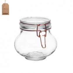 Dóza sklo CLIP patent 0,58 l RÓZA B