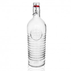Láhev sklo CLIP uzávěr 1,1 l