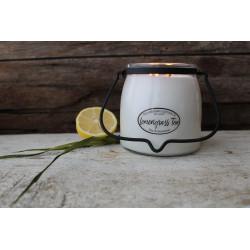 MILKHOUSE CANDLE Lemongrass Tea vonná svíčka BUTTER JAR 2-knotová (454 g)
