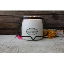 MILKHOUSE CANDLE Sweet Woods vonná svíčka BUTTER JAR 2-knotová (454 g)