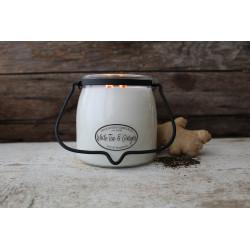MILKHOUSE CANDLE White Tea & Ginger vonná svíčka BUTTER JAR 2-knotová (454 g)