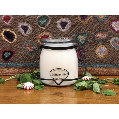 MILKHOUSE CANDLE Moroccan Mint vonná svíčka BUTTER JAR 2-knotová (454 g)