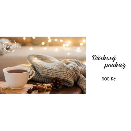Dárkový poukaz vánoční