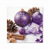 Ubrousek Purple Baubles TETE 20 ks 33x33 cm