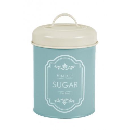 Dóza na cukr, modrá