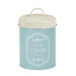 Dóza na kávu, modrá