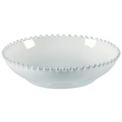 Mísa PEARL, 23 cm, bílá