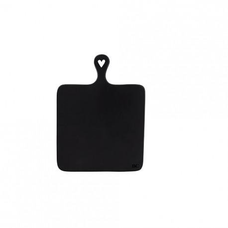 Servírovací podnos, černá, 35x25,5 cm