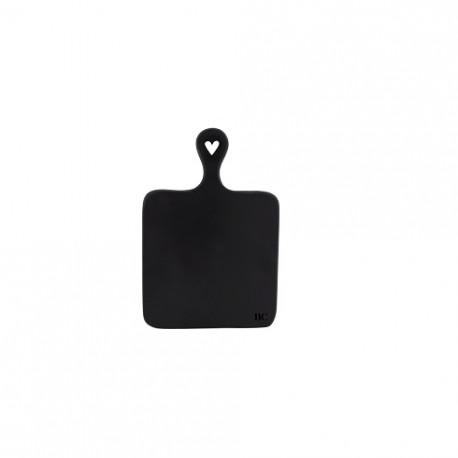 Servírovací podnos, černá, 29x20cm