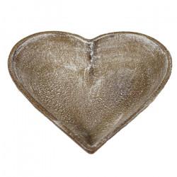 Podnos srdce menší