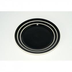 Desertní talířek Proužek, 20 cm