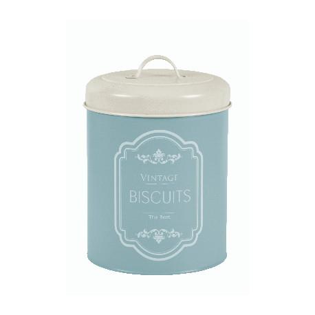 Dóza na sušenky BISCUITS, modrá