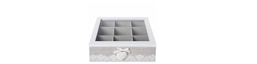 Zásobníky a krabičky na čaj
